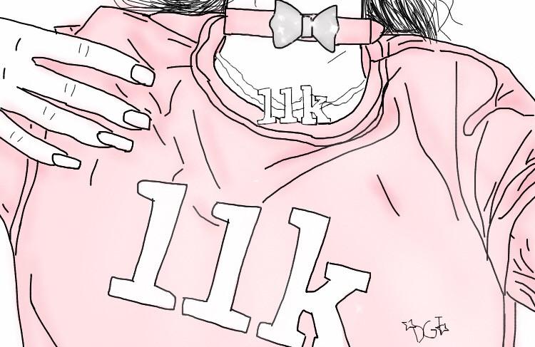 THANKS SO MUCH FOR 11k I MEAN LIKe DANG 💖✨🙆🏽 #tumblr #tumblrgirl #madeit #tumblroutline #tumblrdrawing #thanks #omg #11k #interesting #outline #drawing #art #pink #aesthetic #pinkaesthetic #FreeToEdit
