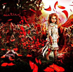 autumncolors wapautumnvibes fantasy autumn sketch freetoedit