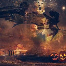 halloweengypsygirl scorpiogirl sunset ruledbymars night