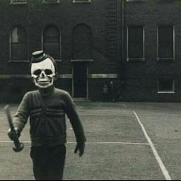 art photography vintagephotography skull