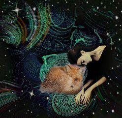 freetoedit remix girl fox peace